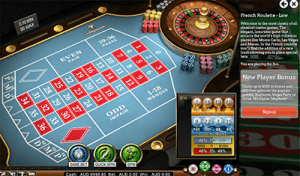 French roulette online