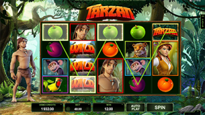 Tarzan online slot