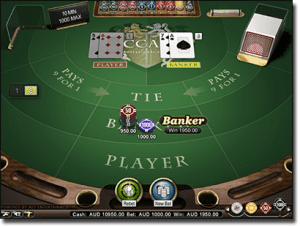 Online real money Baccarat for rich players