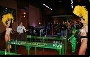 O'Sheas Casino - beer pong