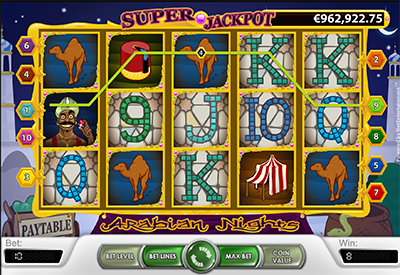 Arabian Nights slot game