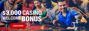 Bovada Casino real money new player welcome bonus