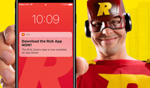 Rizk Casino unveil new mobile casino app