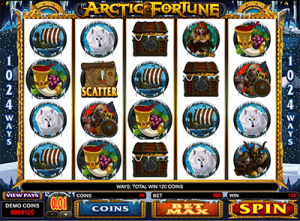 Artic Fortune online 1024 Ways slots