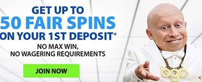BGO.com free spins on slots