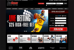 BetOnline high-stakes casino website