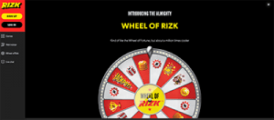 Rizk high-stakes casino website