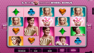 Bridesmaid online slots by Microgaming