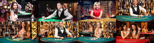 Evolution Gaming live dealer games catalogue