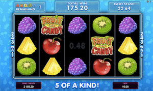 Fruit vs Candy free spins