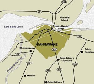 Kahnawake territory