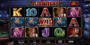 Lost Vegas online slots by Microgaming