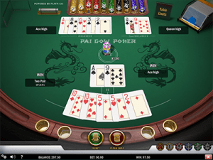 Pai Gow Poker by Play'n Go software