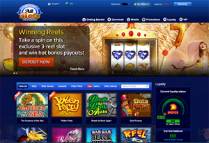 All Slots Casino no download interface