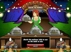 Beerfest scratch card online