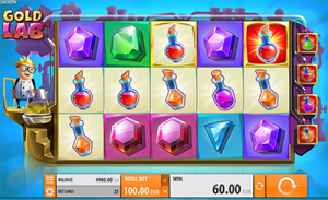 Gold Lab slots by Quickspin software