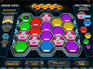Hexaline niche casual game at online casinos