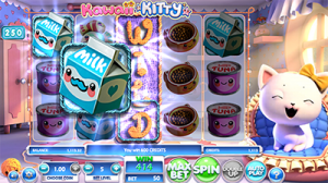 Kawaii Kitty 3D slots game by BetSoft