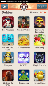 iPhone and Android mobile slots games