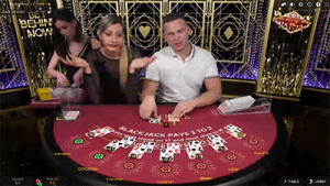 Live dealer Blackjack Party by Evolution Gaming