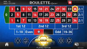 Mobile roulette games iPhone