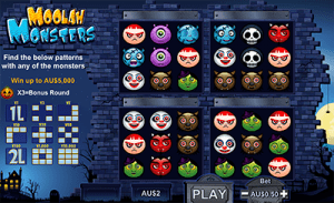 Moolah Monsters by NeoGames online casino software