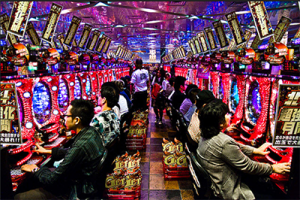 Pachinko gaming Japan