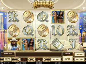 Pimped online slots by Play'n Go