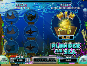 Punder the Sea online scratch cards instant