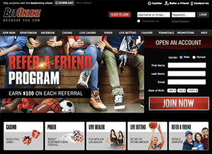 Russian online gambling sites BetOnline