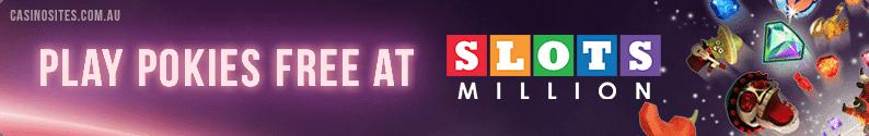 Slots Million free spin bonus