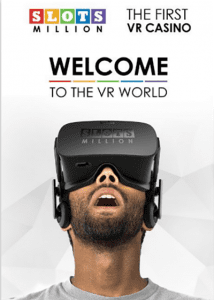 Slots Million VR slots games with Oculus Rift