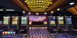 Slots Million virtual reality slots lounge with Oculus Rift