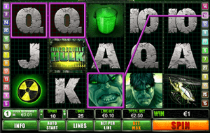 The Incredible Hulk online slots progressive jackpot