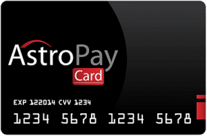 Astropay prepaid deposit option