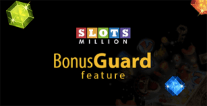 Bonus guard at SlotsMillion