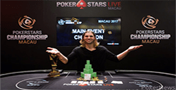 Elliot Smith with Pokerstars Championship