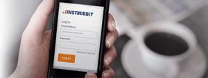 Instadebit Canadian mobile casino deposit option