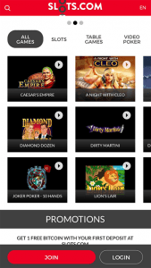 Slots.com mobile casino