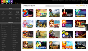 Slots Million no download instant play online casino