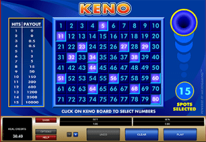 Best Keno Numbers To Choose