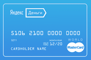 Yandex.Money payment card