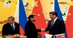 China and Philippines combine