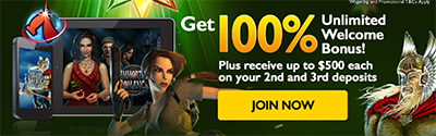 G'day Casino sign-up bonus