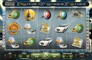 Mega Fortune progressive jackpot slots by NetEnt