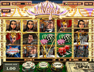 Mr Vegas 3D slot