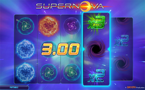 Supernova slot game