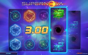 Supernova slot game