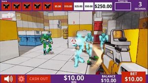 Danger Arena GameCo skill-based casino game FPS