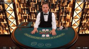 Progressive jackpot live dealer